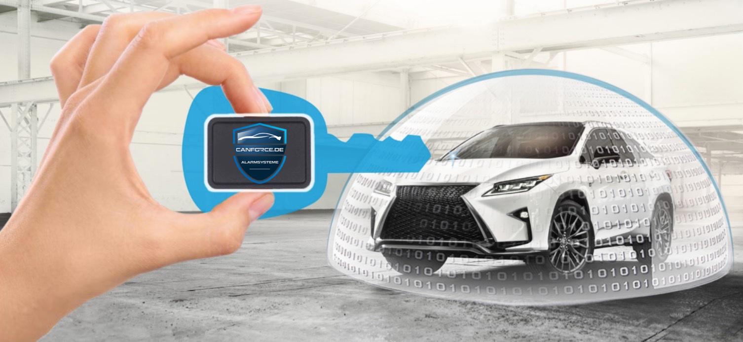 Digitale Wegfahrsperre - Schutz Ihres Fahrzeuges auch bei gestohlenen bzw. geklauten Fahrzeugschlüsseln gegen Diebstahl !