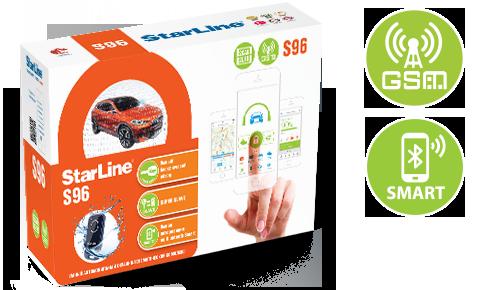 StarLine Karton Verpackung S66 S96 GPS