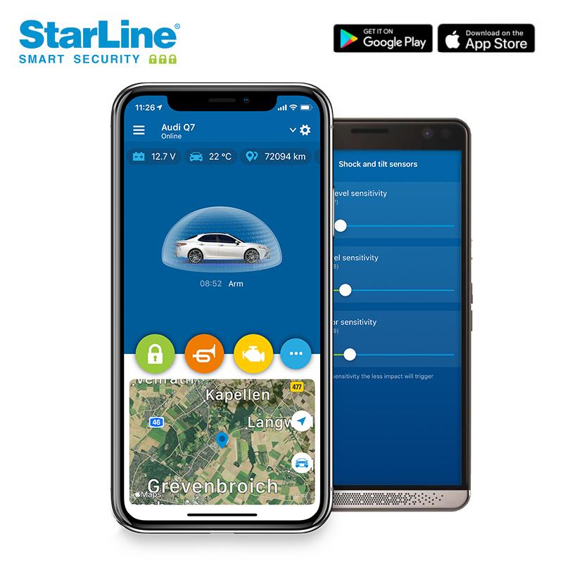 StarLine CAN Bus Alarmanlage mit Wegfahrsperre