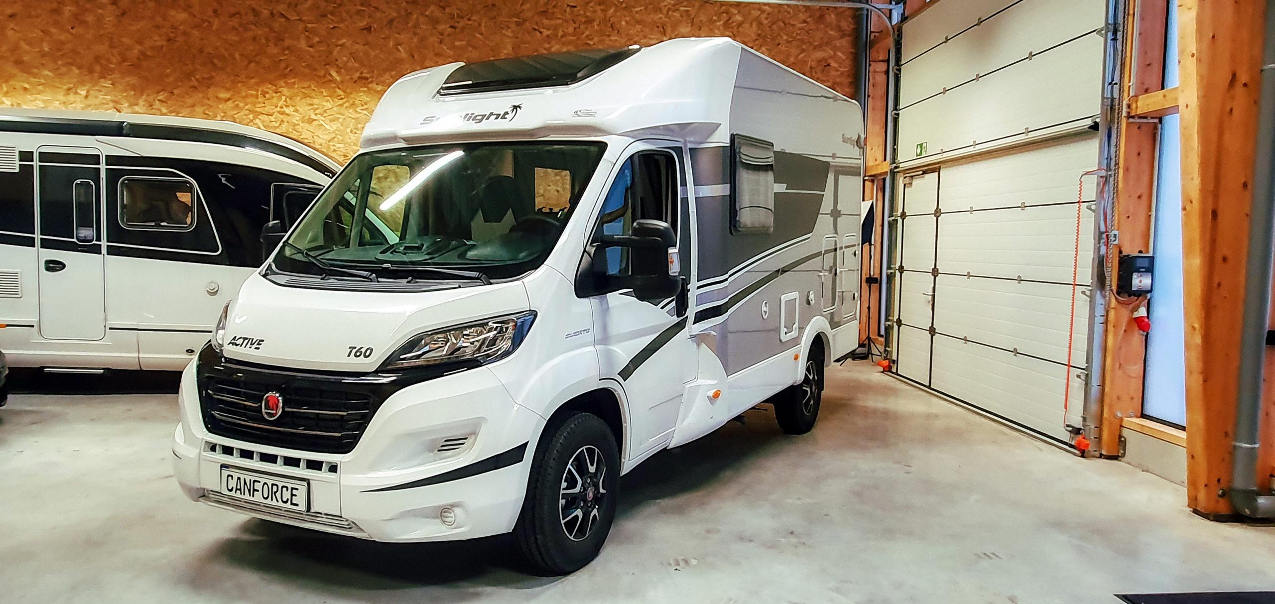 Sunlight T60 Active Wohnmobil Alarmanlage nachgerüstet - Preis Angebot