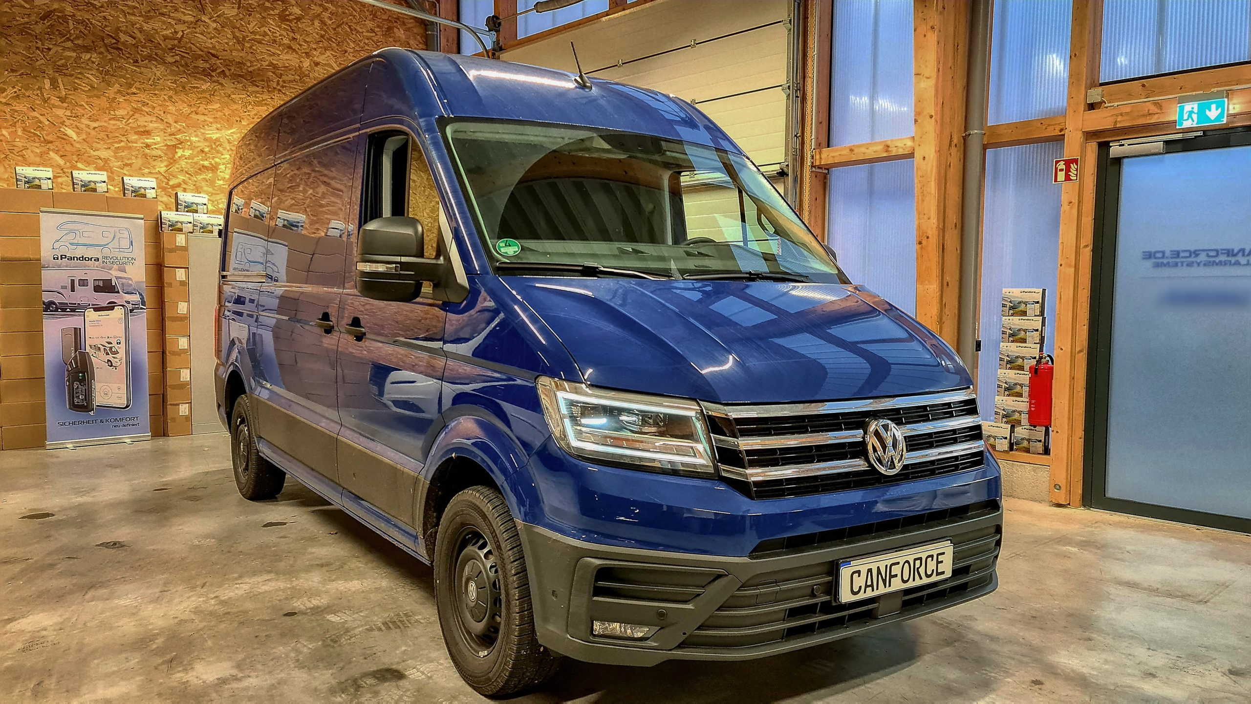VW Crafter 2021 Alarmanlage