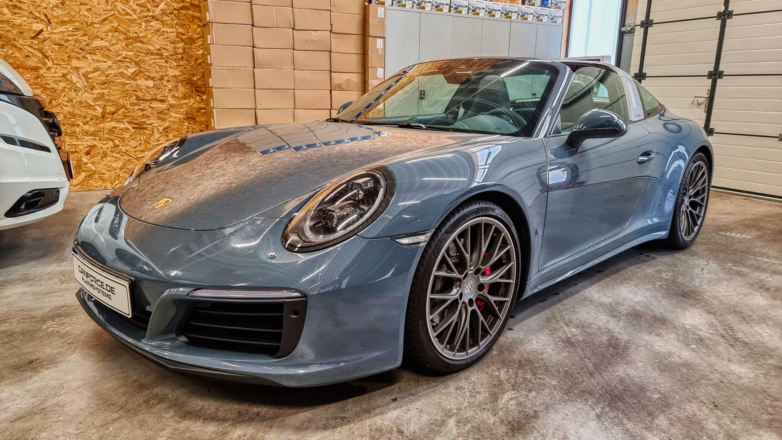 Porsche 911 Targa Alarmanlage nachrüsten